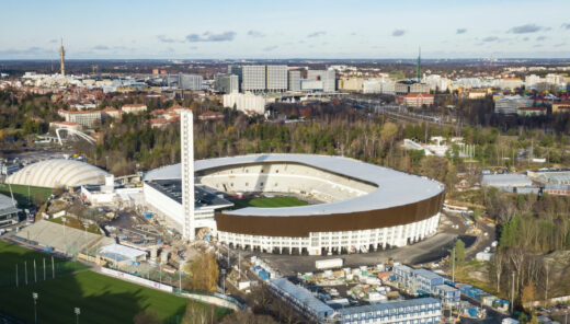 Stadion Olimpijski w Helsinkach   fot. Sweco Finland