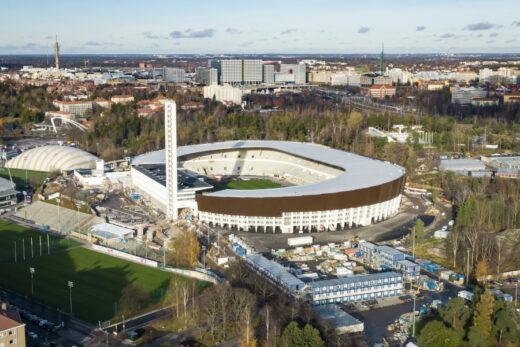 Stadion Olimpijski w Helsinkach | fot. Sweco Finland