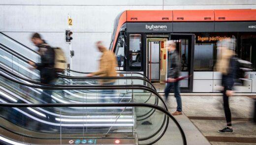 Lekka kolej w Bergen, fot. Sweco NL