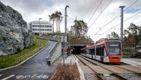 Lekka kolej w Bergen