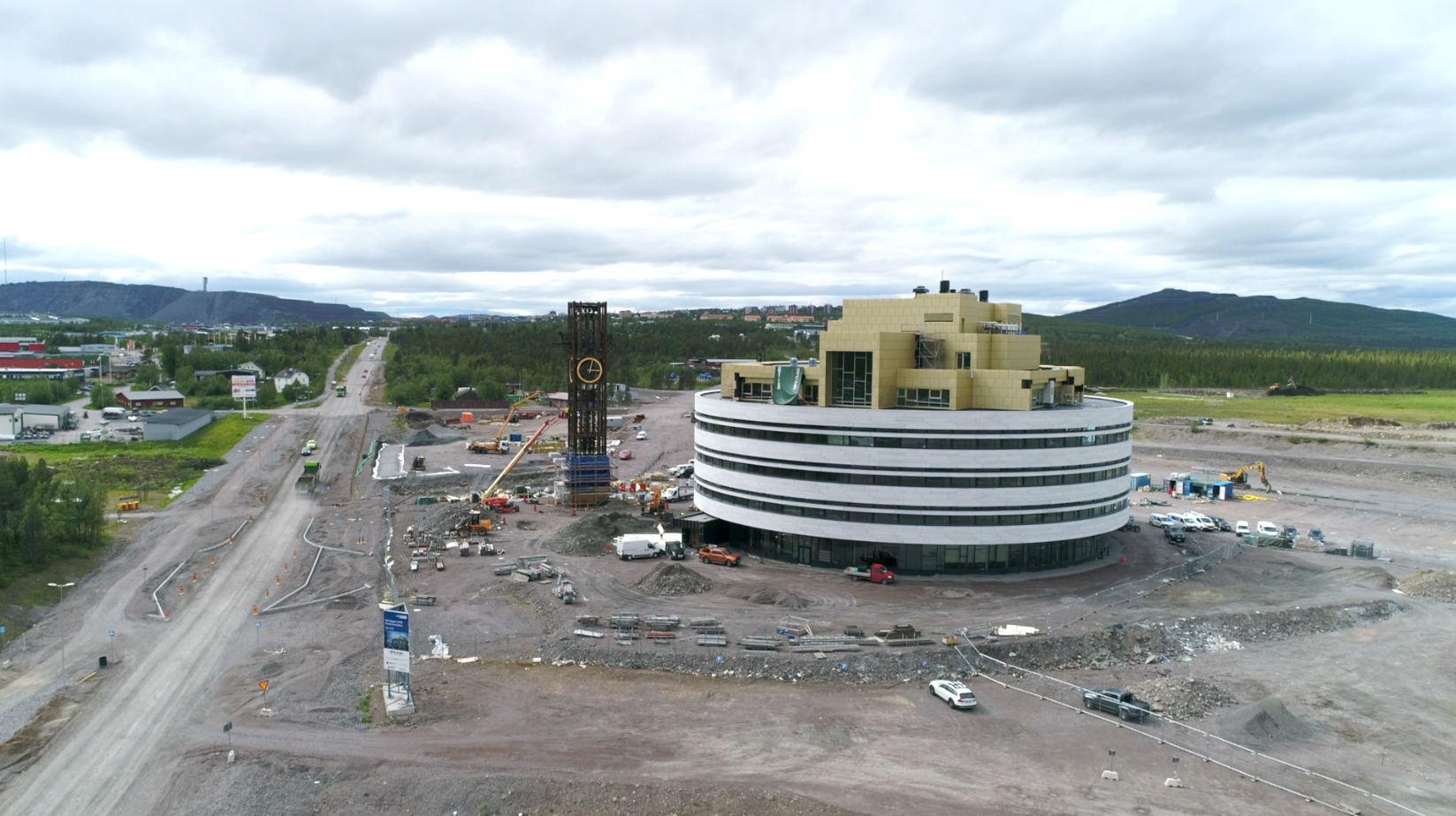 Kiruna - przenosimy miasto - Sweco