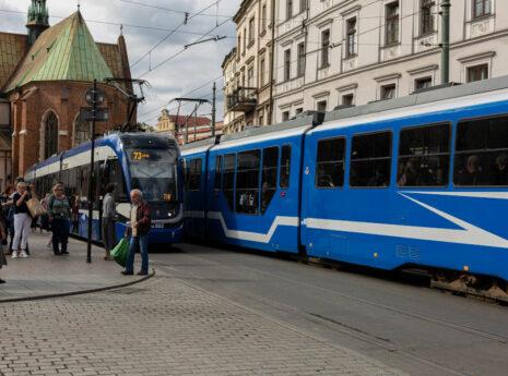 Linie tramwajowe w Krakowie