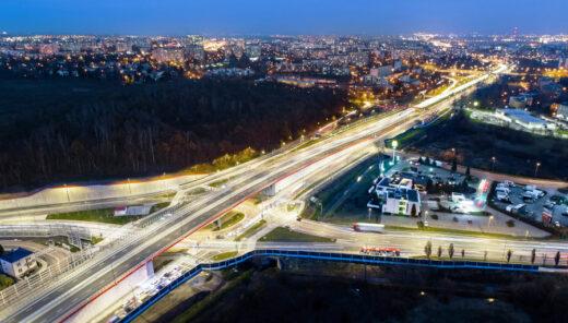 Skrzyżowanie w Lublinie