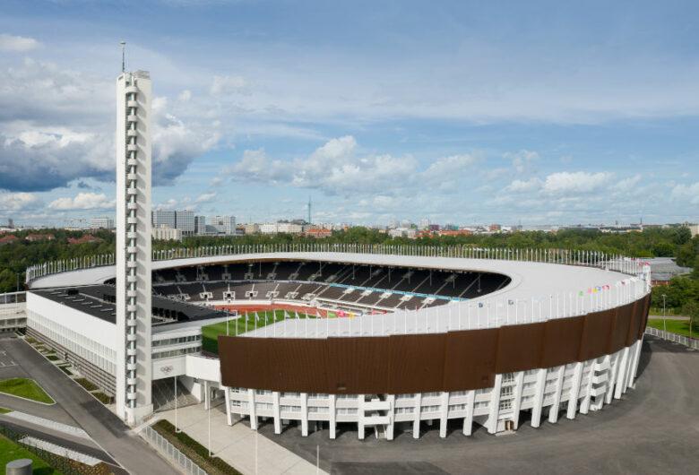 Stadion Olimpijski w Helsinkach - fot. Sweco Finland