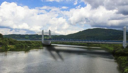 Most nad Dunajcem   wizualizacja Sweco Polska