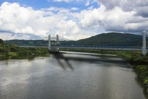 Most nad Dunajcem | wizualizacja Sweco Polska