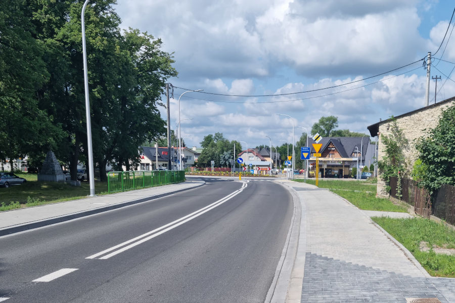 Skrzyżowanie w Świętej Annie   fot. Sweco Polska