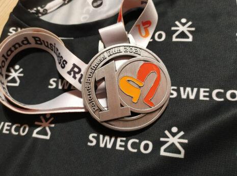Sweco wzięło udział w Poland Business Run 2021